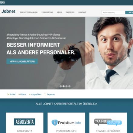 Relaunch des Portals Jobnet.de – Eine neue HR-Plattform mit Potenzial