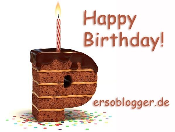 Persoblogger.de wird 1 Jahr alt. Erstes Blog-Jubiläum 2014
