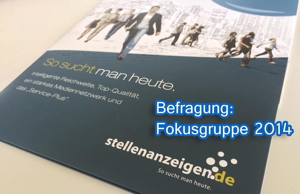 Stellenbörse befragt HR-Fokusgruppe Unternehmen: So läuft es in der Recruiting-Praxis!