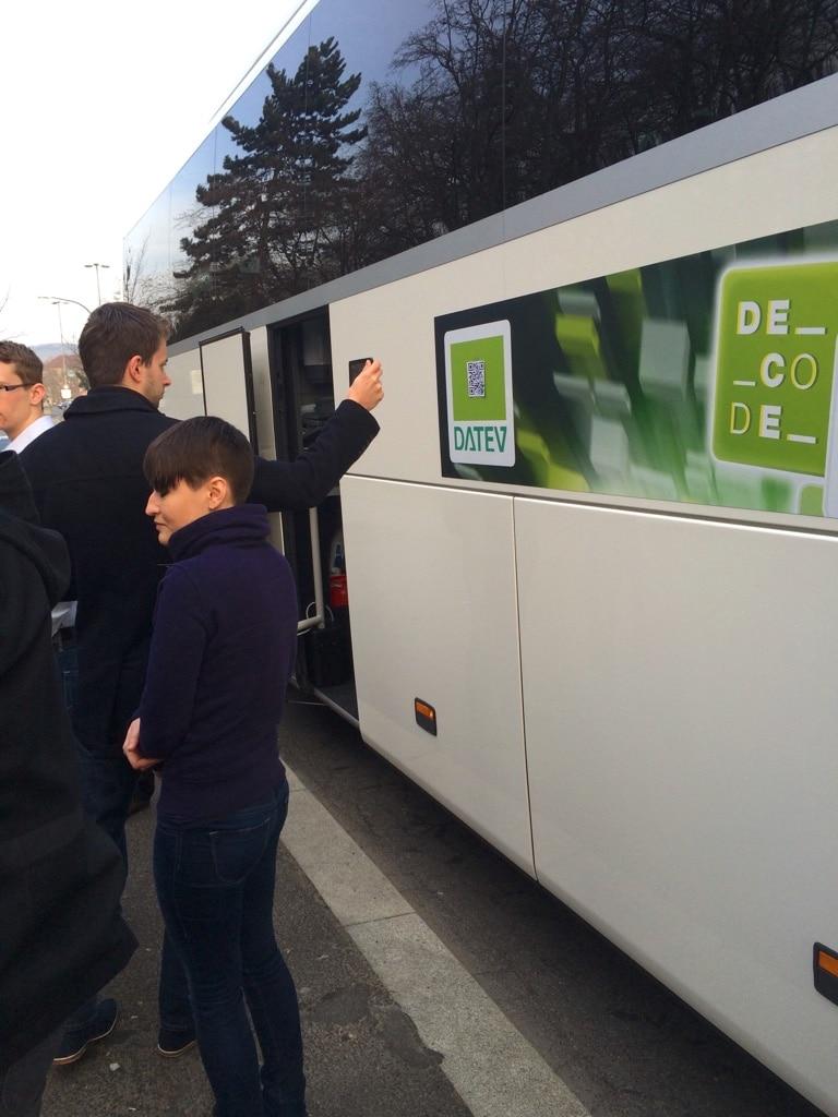 Tourbus der CryptoRallye