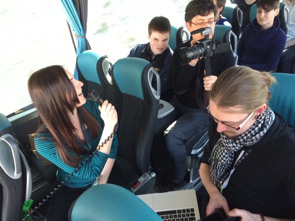 DATEV-Vortrag im Bus