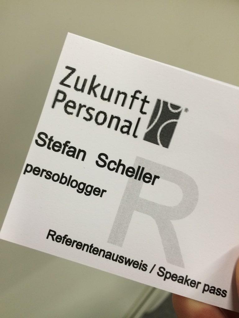 Mein Referentenausweis