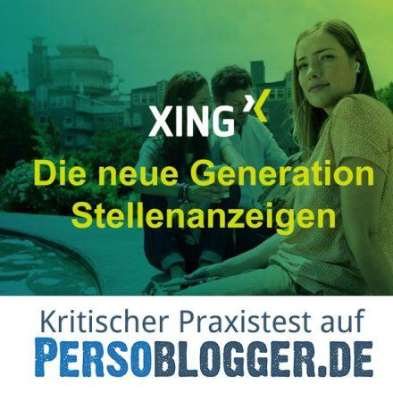 XINGs Stellenanzeigen der Zukunft – der große Wurf? Ein kritischer Test.