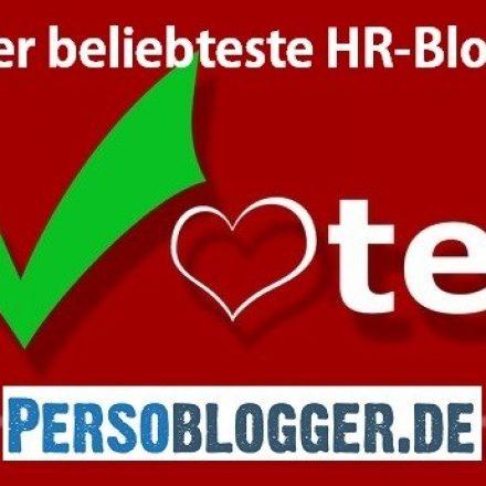 Der beliebteste HR-Blog Deutschlands – Ihr Voting für Persoblogger.de