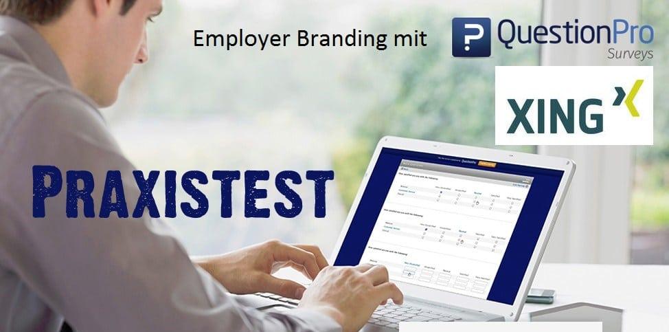 Employer Branding mit XING QuestionPro – ein Praxistest