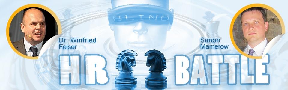 Arbeit 4.0 pro und contra - ein Argumentationsduell zweier HR-Experten im Rahmen des Blind HR Battle