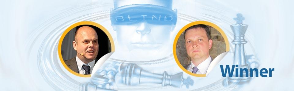 Simon Mamerow siegt im 5. Blind HR Battle gegen Dr. Winfried Felser