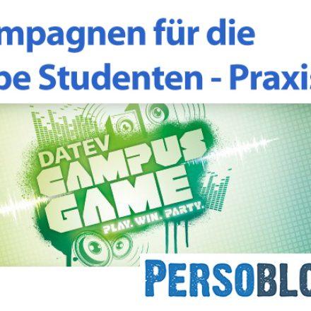 Imagekampagnen für die Zielgruppe Studenten – Praxisbeispiel