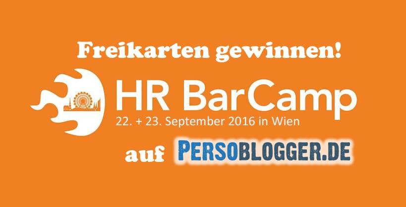 HR BarCamp Wien – Freikarten gewinnen für das Topevent