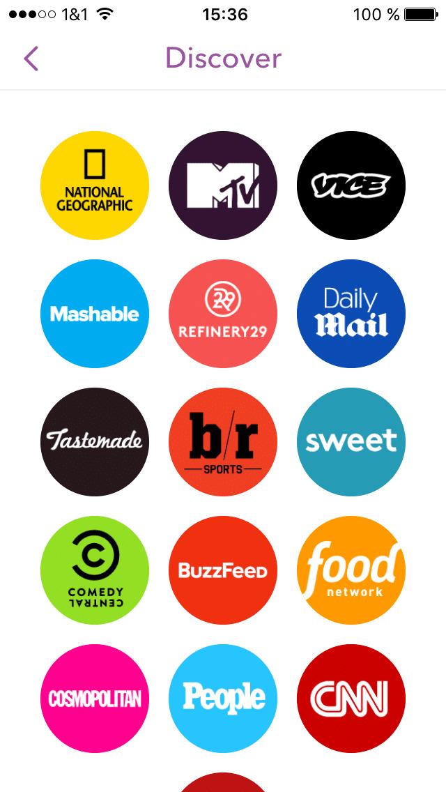 Starke Marken kooperieren mit Snapchat