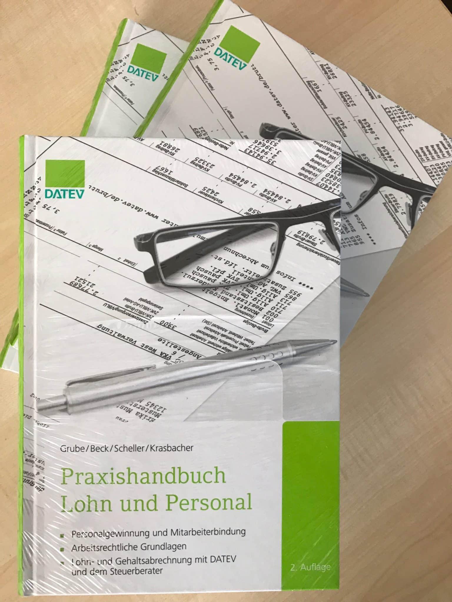 DATEV Verlage Praxishandbuch Lohn und Personal für kleine Unternehmen