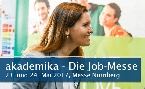 akademika 2017 - die Job-Messe in Nürnberg