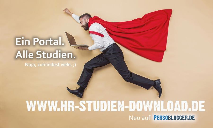 Ein Portal. Alle HR-Studien. Naja, zumindest viele ;)