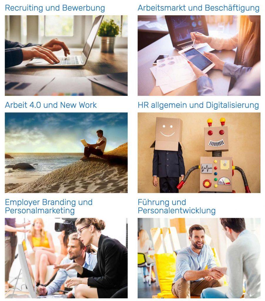 Übersicht Kategorien HR-Studien Download Portal auf Persoblogger.de