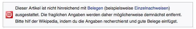 Screenshot wikipedia.de zu Mitarbeiterempfehlungsprogramm