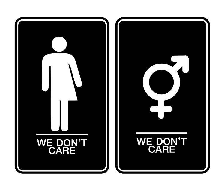 Führt das dritte Geschlecht zum all-gender-restroom?