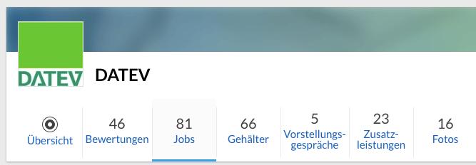 81 Jobs im Unternehmensprofil