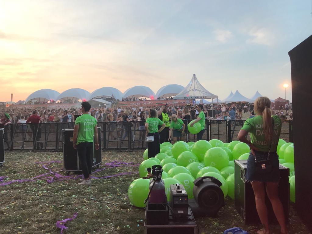 Personalmarketing-Aktion der DATEV eG beim Open Beatz Festival 2018 - den Spieltrieb nutzen
