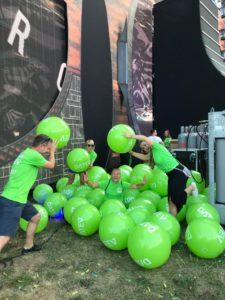Personalmarketing-Aktion beim Open Beatz Festival 2018 - den Spieltrieb nutzen