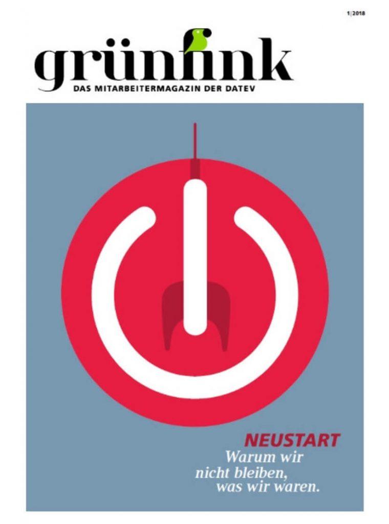 Grünfink digital - Mitarbeitermagazin der DATEV eG