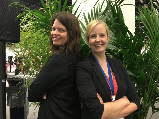 HR-Bloggerinnen Melanie und Maren
