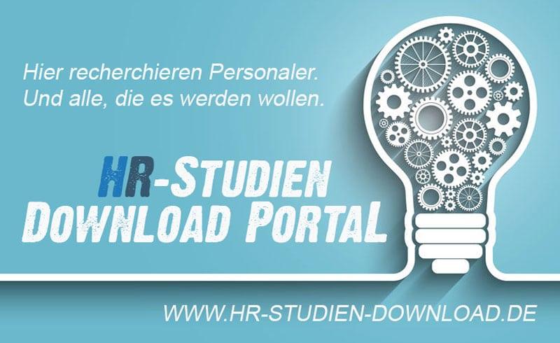 HR-Studien Download Portal von Persoblogger.de - Banner
