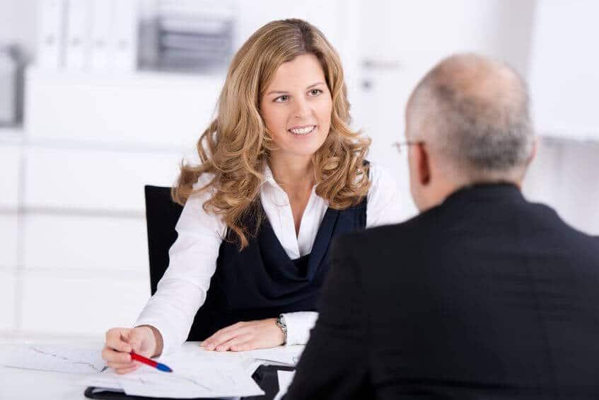 MItarbeitergespräch mit der Chefin