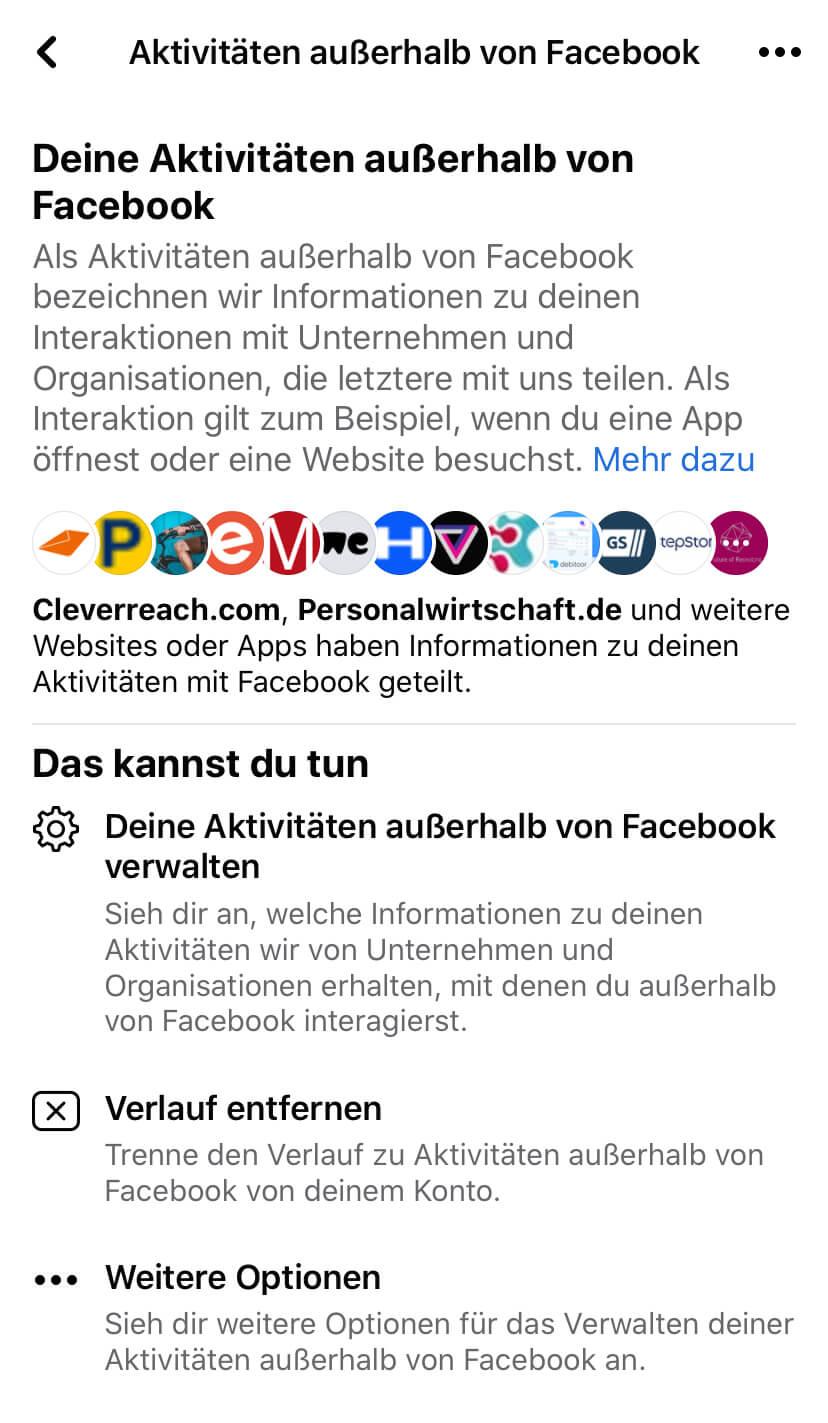 Aktivitäten Von Freunden Facebook
