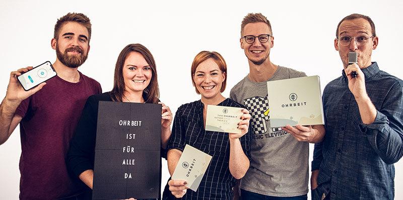 Team von OHRBEIT - Interview auf PERSOBLOGGER.DE
