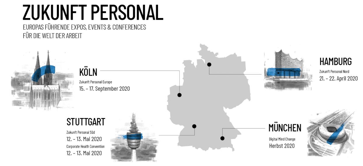 Die Zukunft Personal Serie vernetzte die Personalerwelt in Deutschland