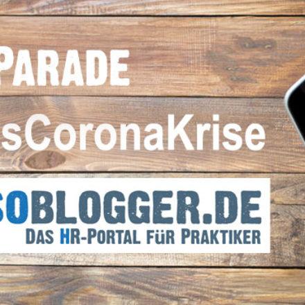 Blogparade: Wie HR in der Corona-Krise Staat und Gesellschaft unterstützen kann – #HRvsCoronaKrise