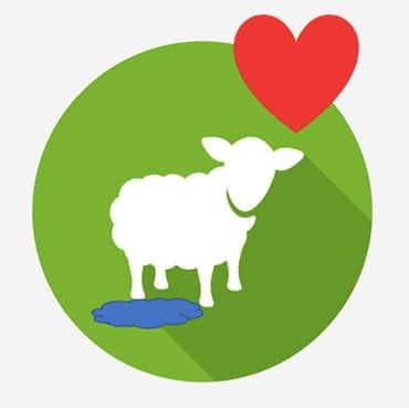 Logo Wollwasserschaf
