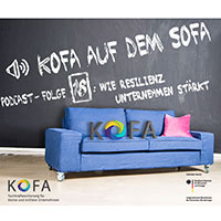 Titelbild Podcast KOFA auf dem Sofa