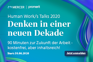 Banner: Human Work/s Talk 2020