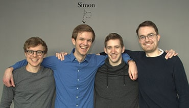 Gruppenfoto: Das Team des HR-Startups Applysia - Assessment Center professionell managen