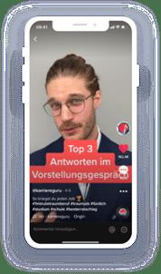 Tobias Jost: TikTok Influencer im Bereich Berufswahl und Jobsuche