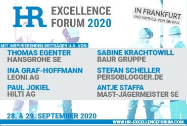 Banner: HR Excellence Forum Veranstaltung