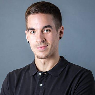 Portrait Dominik Becker vom Startup mana HR