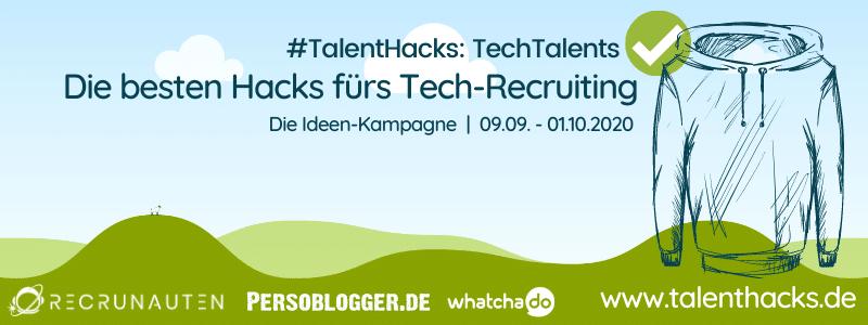TalentHacks 2 - Titelbild: Die besten Hacks fürs Tech-Recruiting