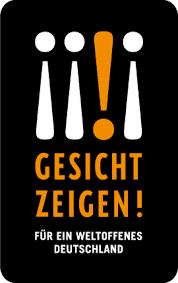 Logo: Gesicht zeigen für ein weltoffenes Deutschland