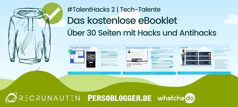 TalentHacks Volume 2 e-Booklet Banner