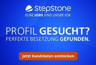 Mit StepStone Kandidaten finden!