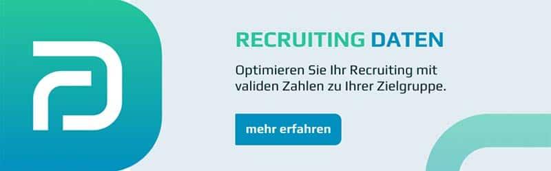 Recruiting Daten Banner