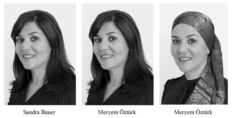 Diskriminierung Bewerberin aufgrund eines Kopftuchs sowie eines türkischen Namens - Studienergebnisse