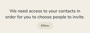 App Clubhouse will Zugriff auf Kontakte im iPhone