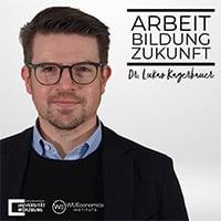 Logo Podcast Arbeit Bildung Zukunft mit Dr. Lukas Kagerbauer