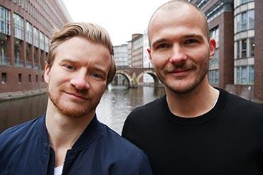 Matthias und Paul - die Gründer von Freelance Junior