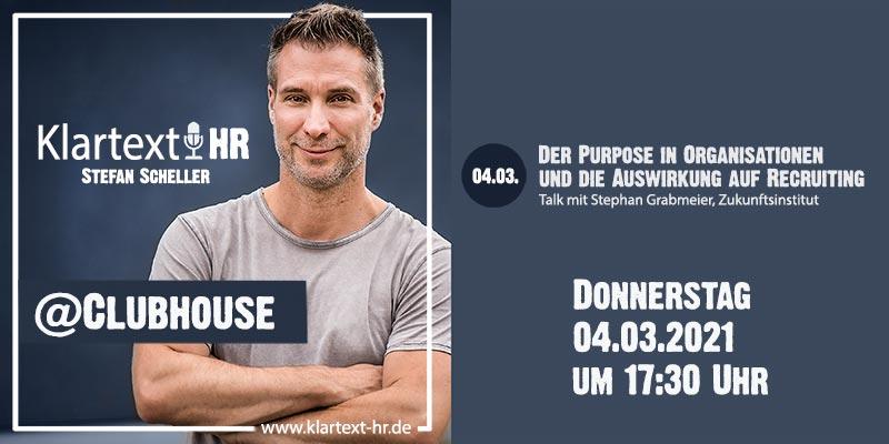 Klartext HR auf Clubhouse - Timetable