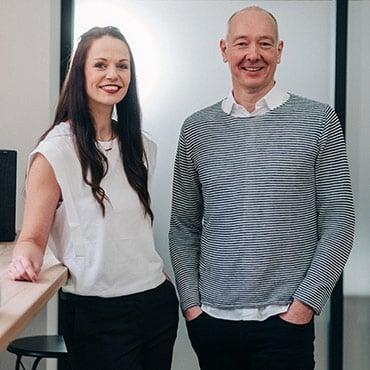 Ralf Hocke und Nadine Jäger: Gründer von COPETRI