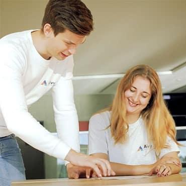 Boas Bamberger und Alexandra Kammer